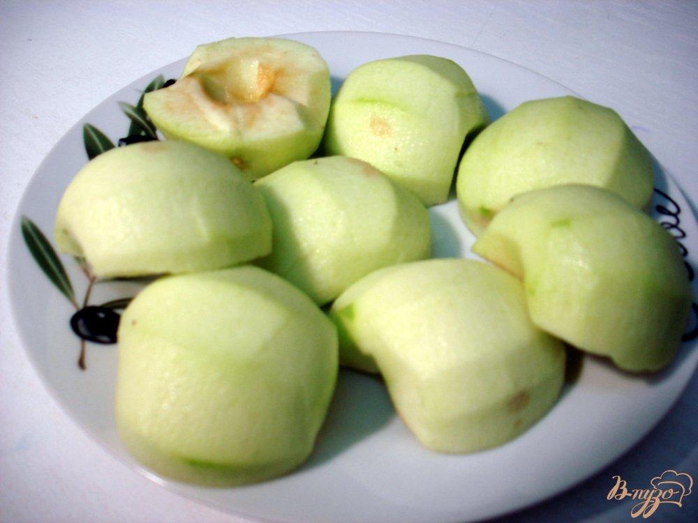 Фото приготовление рецепта: Яблочно - калиновый джем шаг №2