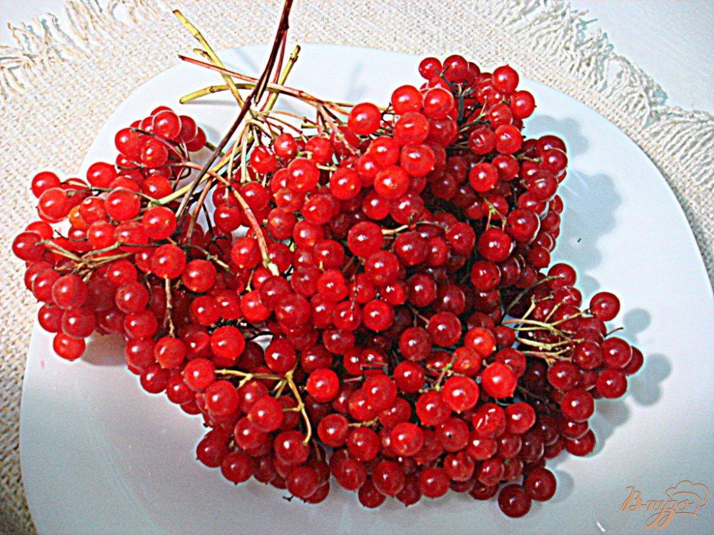Фото приготовление рецепта: Яблочно - калиновый джем шаг №1