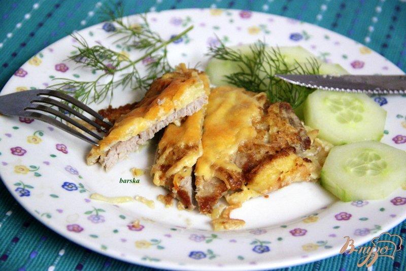 Фото приготовление рецепта: Шницели