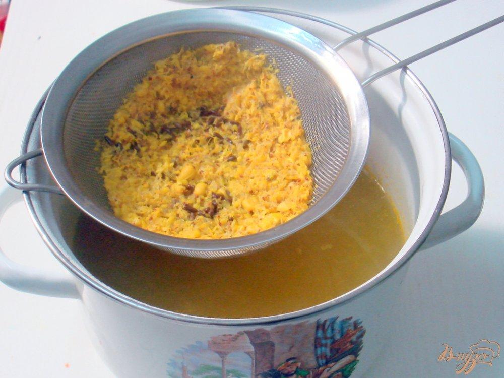 Фото приготовление рецепта: Облепиховый морс шаг №5