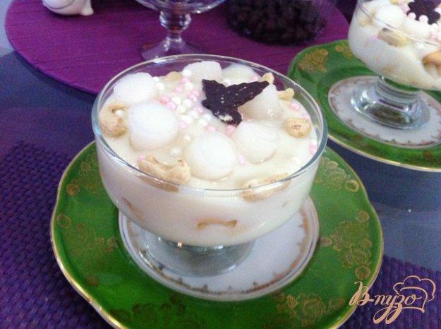 Рецепт Десерт воздушный с кешью