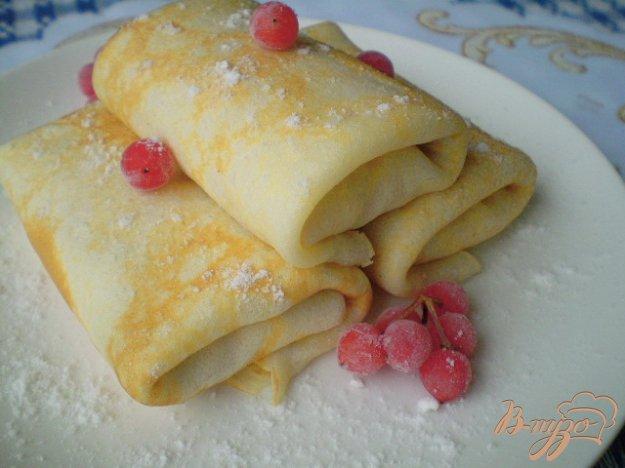 Рецепт Блинчики с творожно-тыквенной начинкой