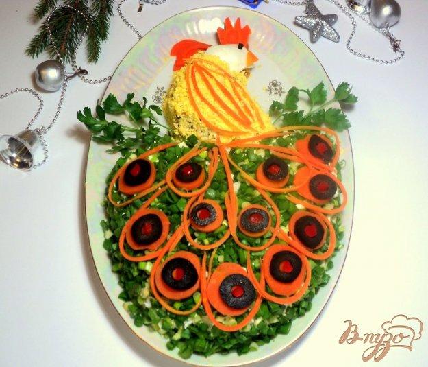 Рецепт Салат «Жар-птица»