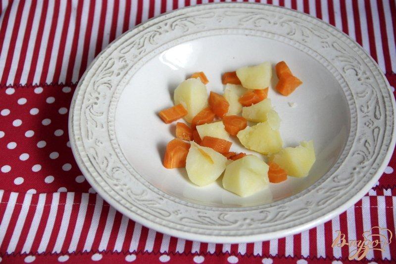 Фото приготовление рецепта: Томатный холодный суп шаг №6