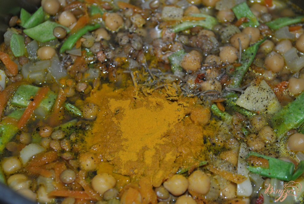 Фото приготовление рецепта: Харира шаг №6