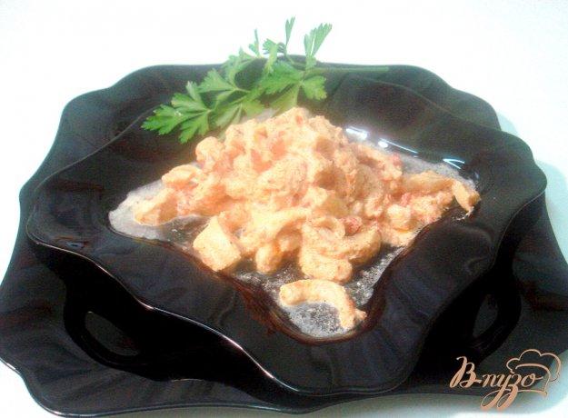 Рецепт Рубцы в томатно - сметанном соусе