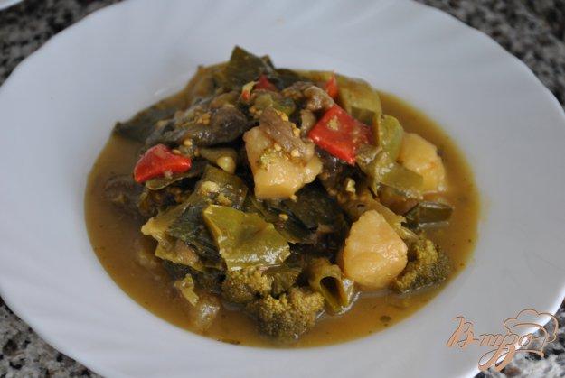 Рецепт Овощное рагу с брокколи
