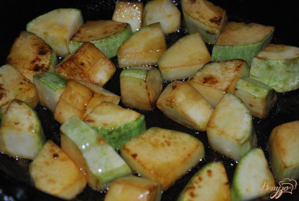 Фото приготовление рецепта: Овощное рагу с брокколи шаг №6