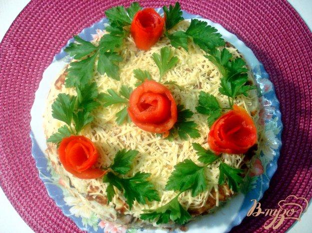Рецепт Закусочный пирог из капусты и грибов