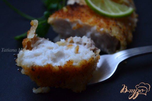 Рецепт Акулье мясо в сухарях