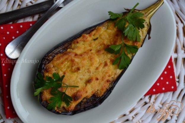 Рецепт Баклажаны с сыром и нутом