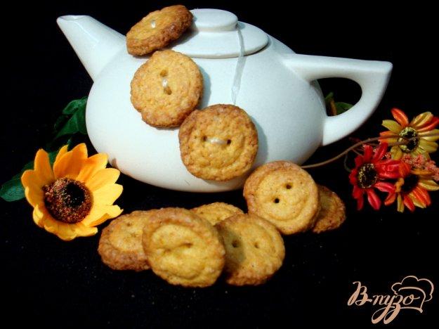 Рецепт Печенье пуговки