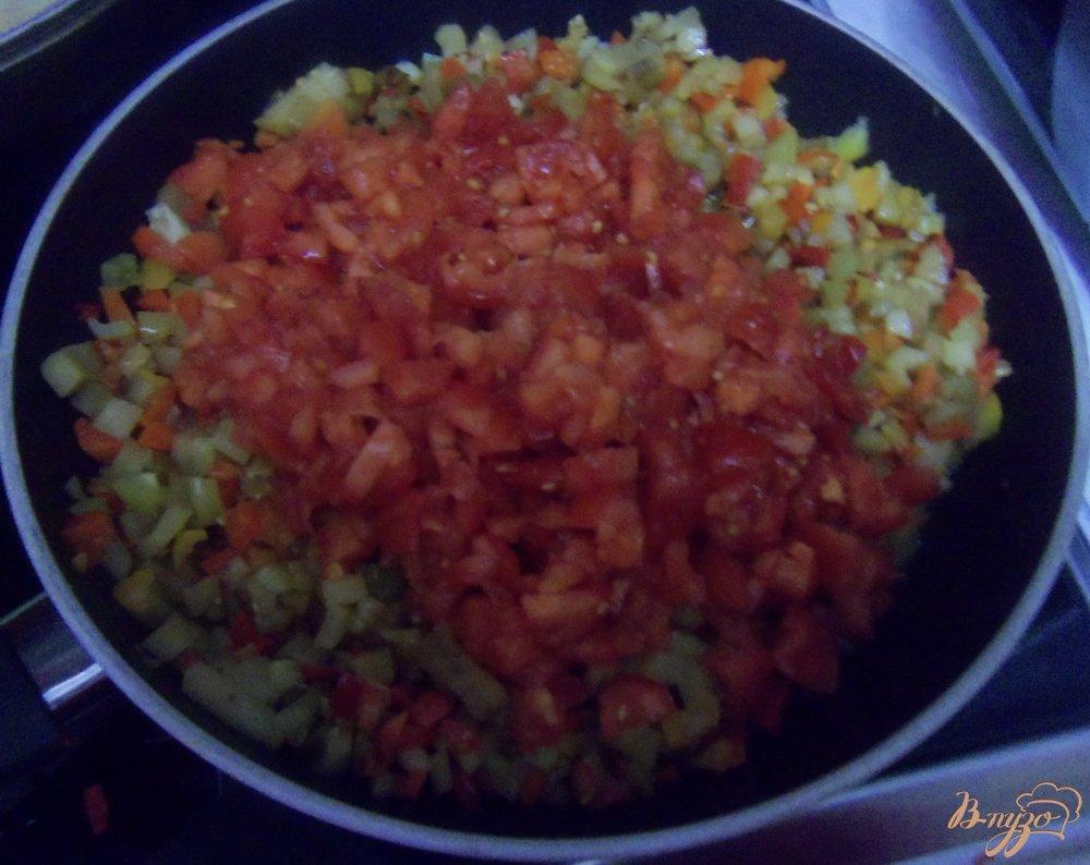 Фото приготовление рецепта: Икра из баклажанов шаг №3