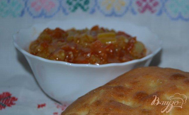 Фото приготовление рецепта: Икра из баклажанов шаг №5