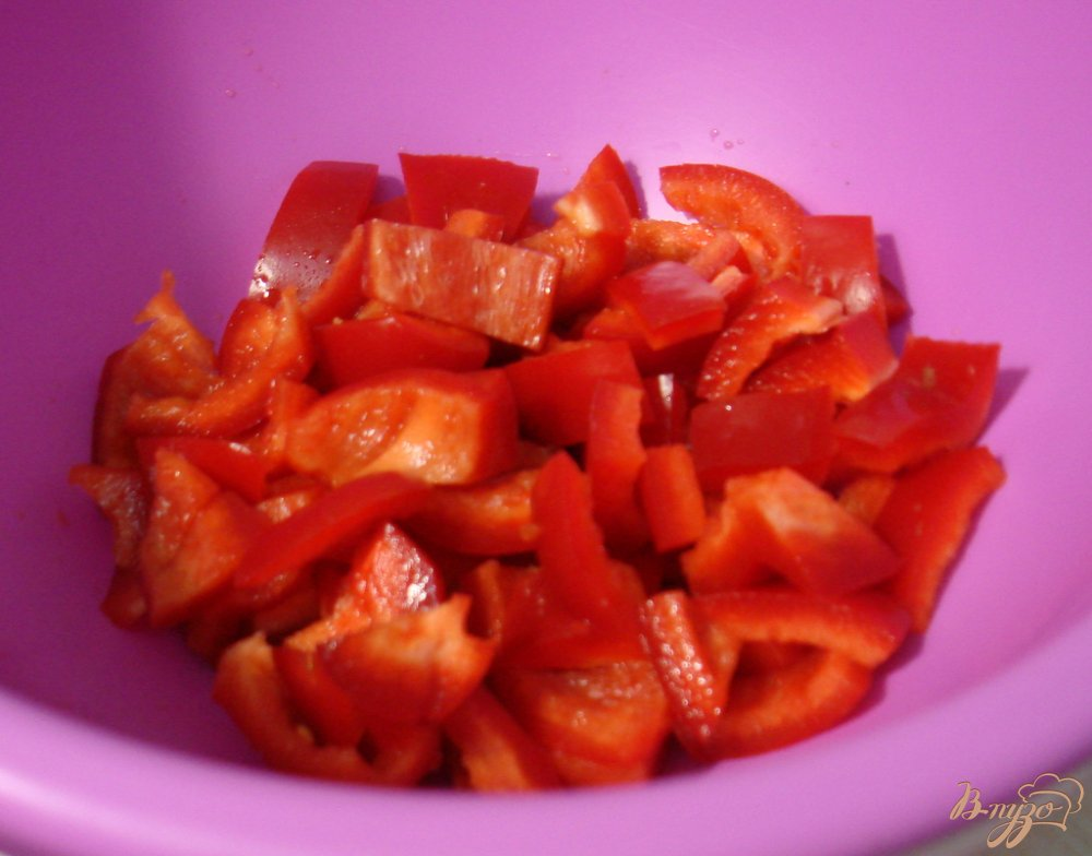 Фото приготовление рецепта: Рагу со свининой и тыквой шаг №5