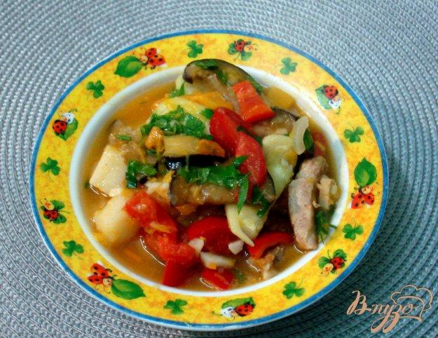 фото рецепта: Рагу со свининой и тыквой