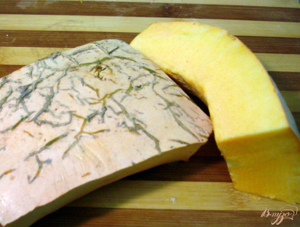 Фото приготовление рецепта: Рагу со свининой и тыквой шаг №3