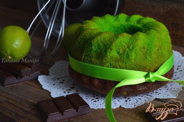 фото рецепта: Лаймово-шоколадный кекс