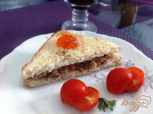 Рецепт Сэндвич с тунцом