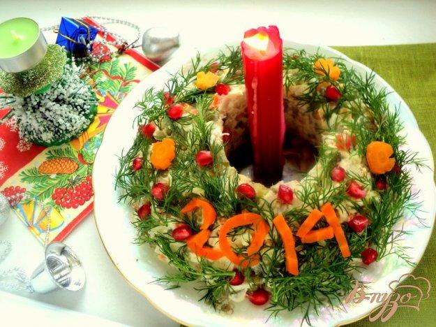 Рецепт Салат «Оливье новогодний»