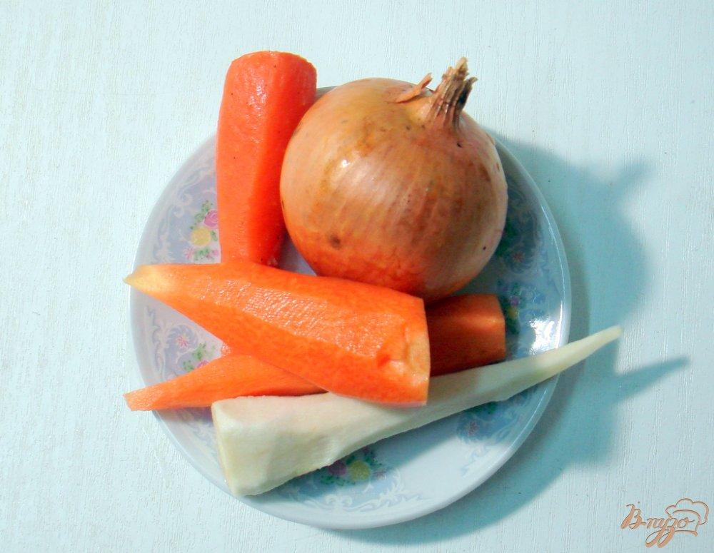 Фото приготовление рецепта: Курица заливная шаг №2