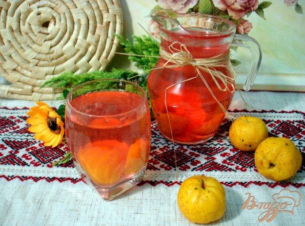 Рецепт Компот из японского лимонника со смородиной