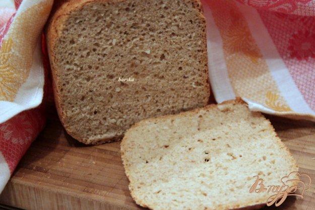 Рецепт Смешанный хлеб с рисовыми хлопьями