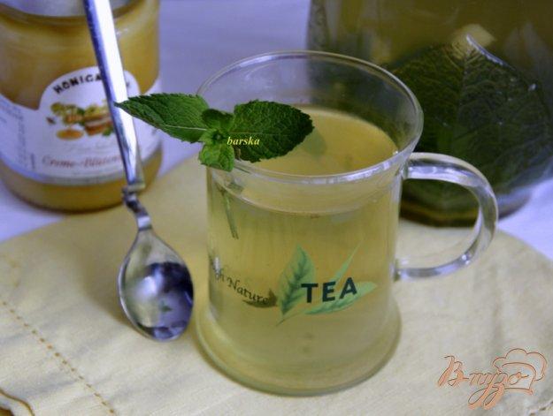 Рецепт Мятный чай с имбирем и медом