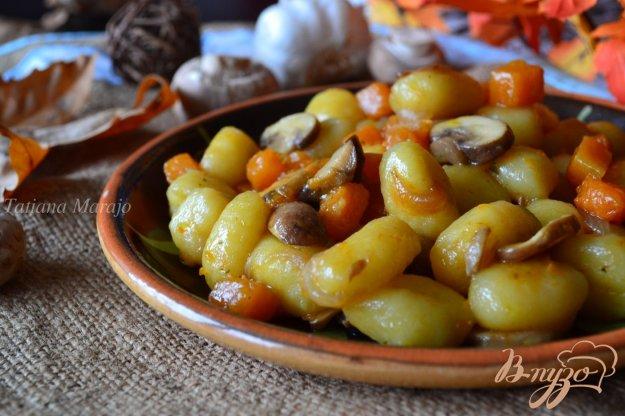 Рецепт Ньокки с тыквой и грибами