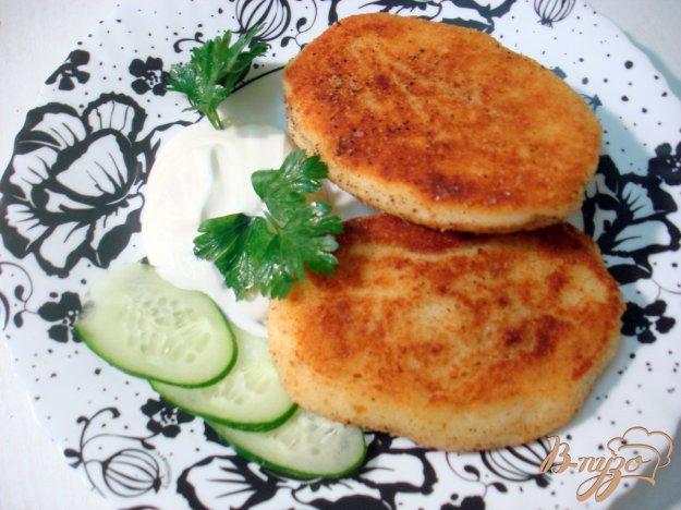 Рецепт Картофельные зразы с капустой