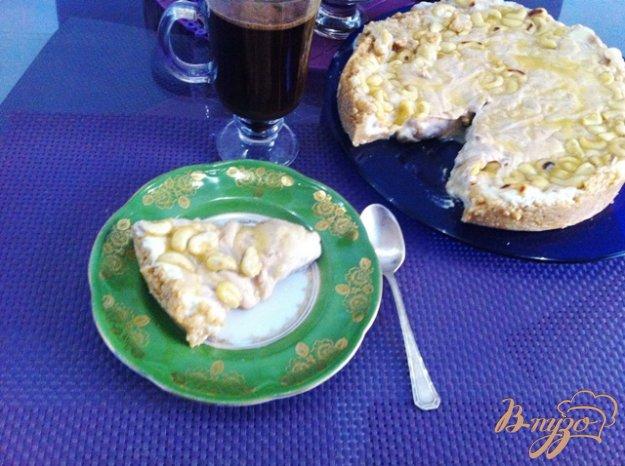 Рецепт Чизкейк с карамельным соусом без выпечки