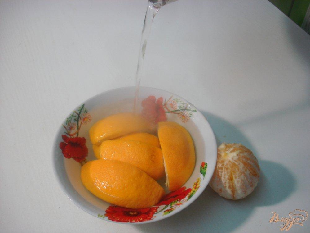 Фото приготовление рецепта: Калина с апельсином шаг №3