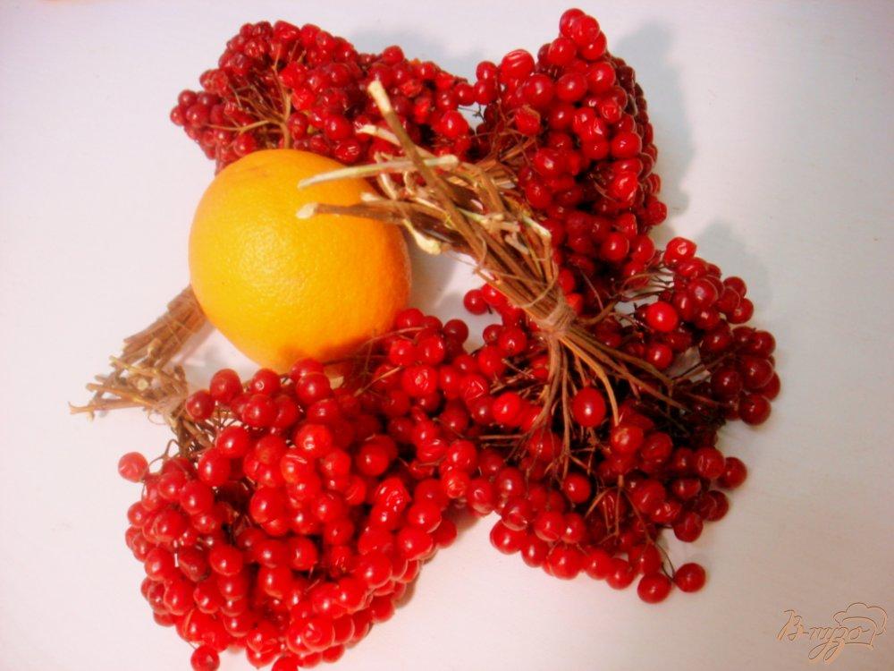 Фото приготовление рецепта: Калина с апельсином шаг №1