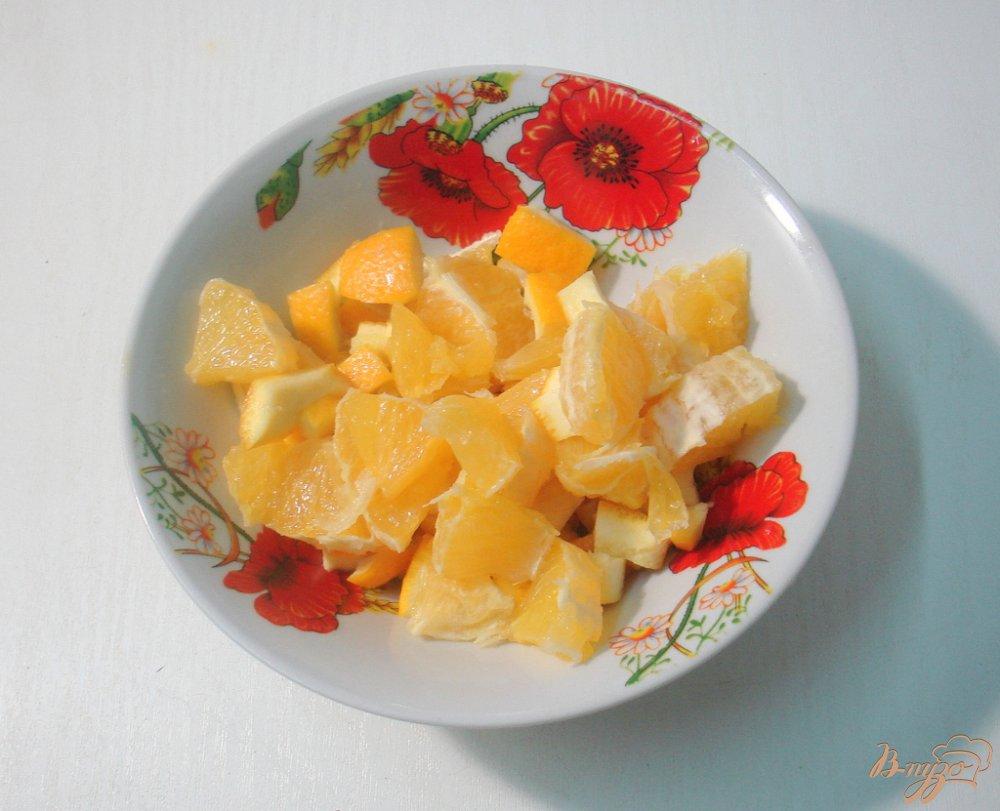Фото приготовление рецепта: Калина с апельсином шаг №4