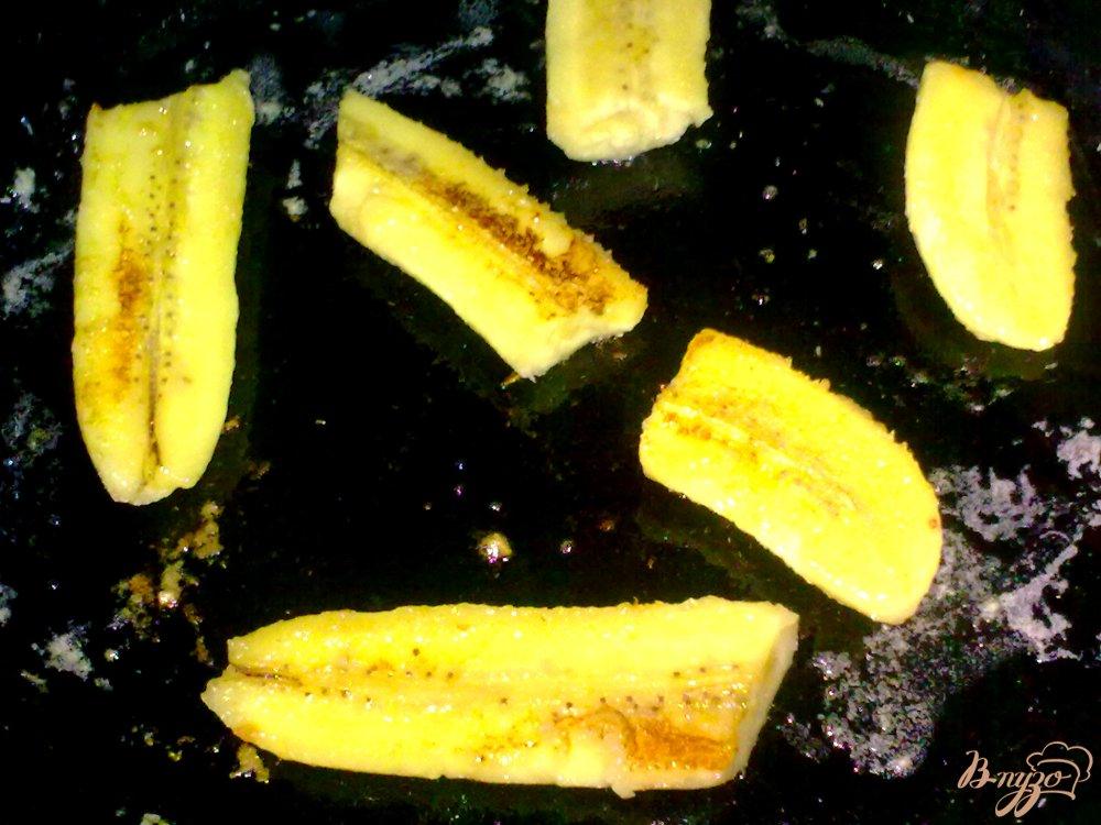 Фото приготовление рецепта: Бананы по-корейски шаг №3
