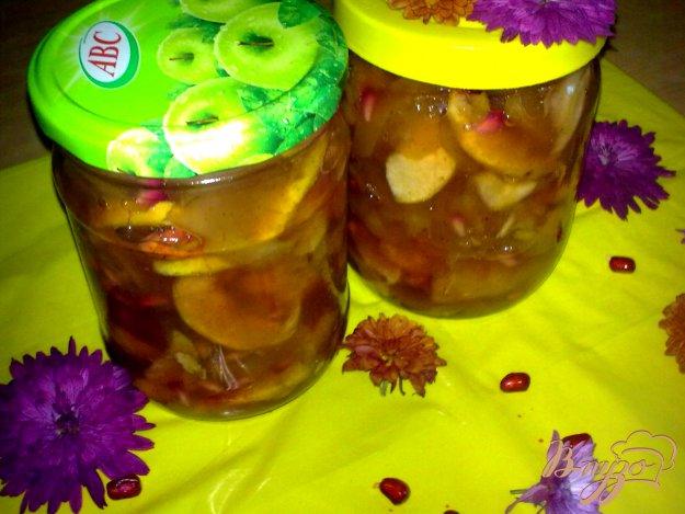 Рецепт Варенье яблочное с гранатом
