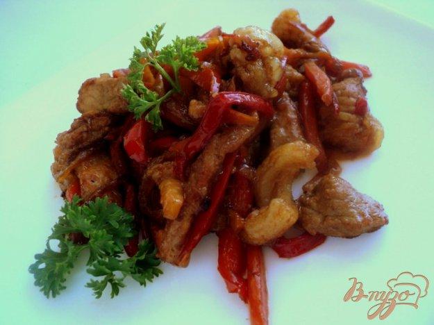фото рецепта: Свинина с овощами по-китайски