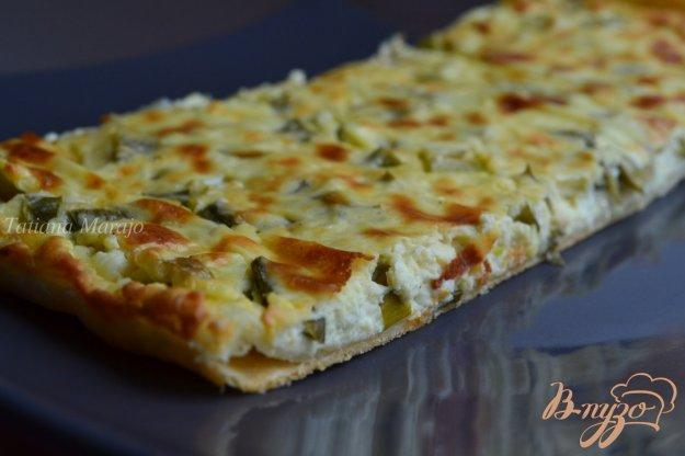 Рецепт Пирог с брынзой и зеленым луком