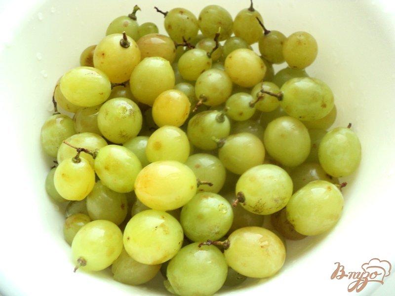 Фото приготовление рецепта: Гроновица (моченый виноград) шаг №2