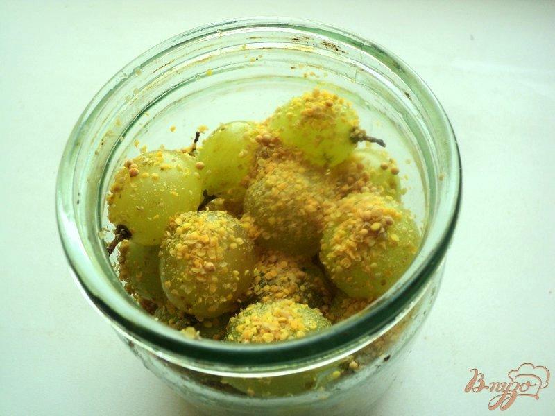 Фото приготовление рецепта: Гроновица (моченый виноград) шаг №4