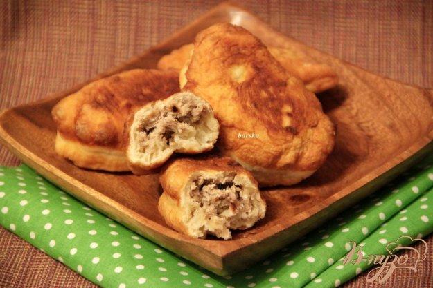 Рецепт Быстрые жареные пирожки с мясом