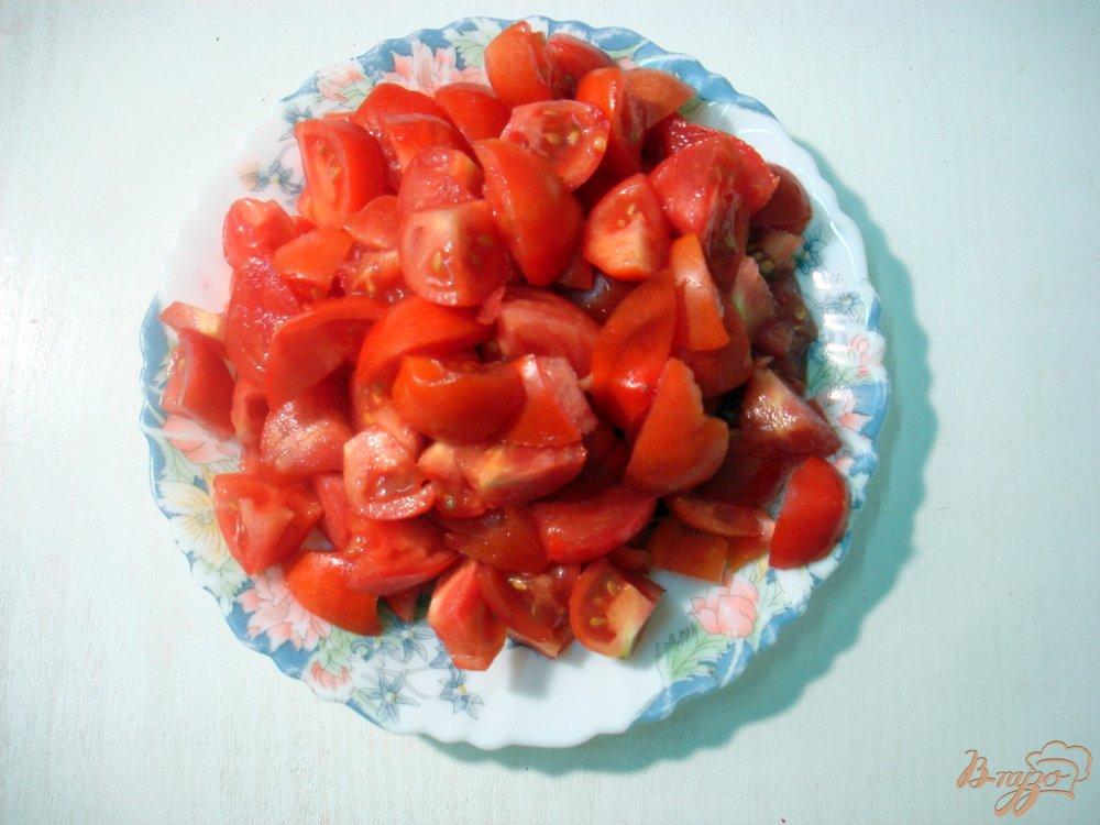 Фото приготовление рецепта: Борщ без капусты с перцем шаг №4