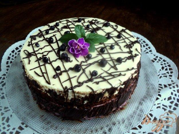 Торт «Чорнична поляна». Як приготувати з фото