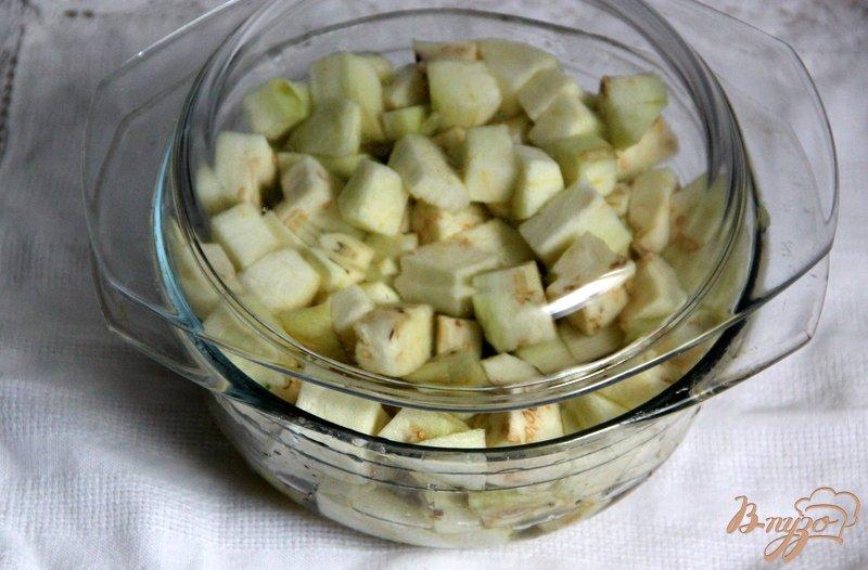 Фото приготовление рецепта: Запеканка из баклажанов шаг №1