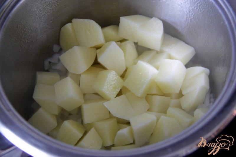 Фото приготовление рецепта: Суп-пюре из цуккини с карри шаг №2