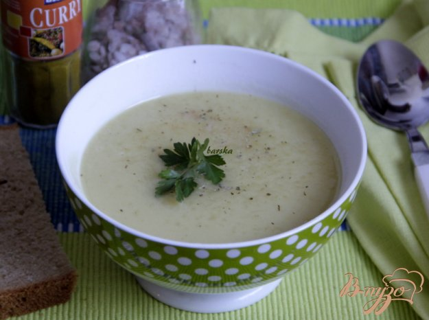 фото рецепта: Суп-пюре из цуккини с карри