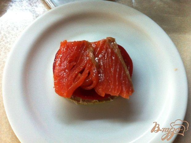 Закуска из кабачков и лосося
