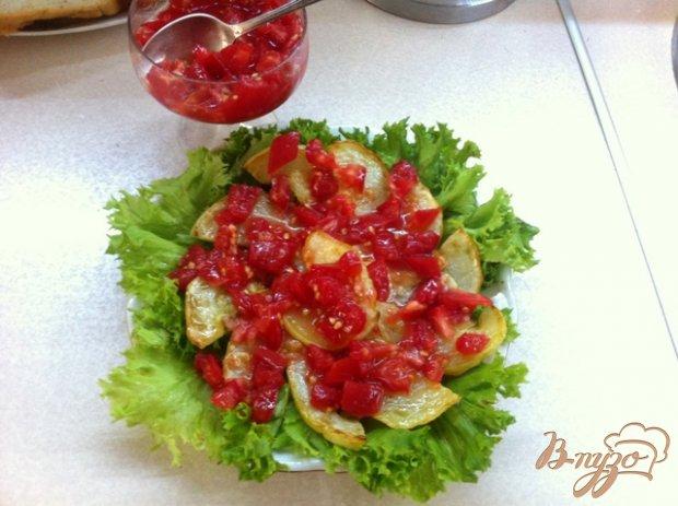 Закуска из кабачков, помидоров и сыра Джугас