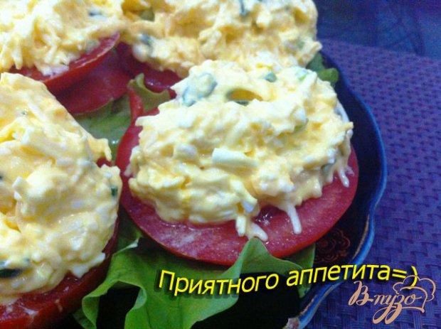 Сырный салат с зеленью