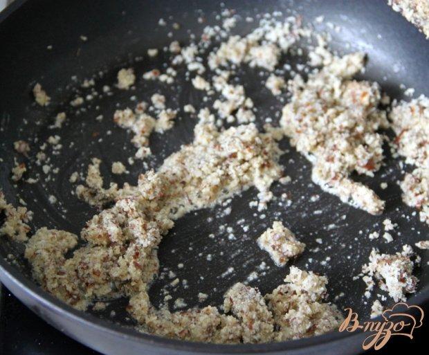 Стручковая фасоль с миндалём и чили